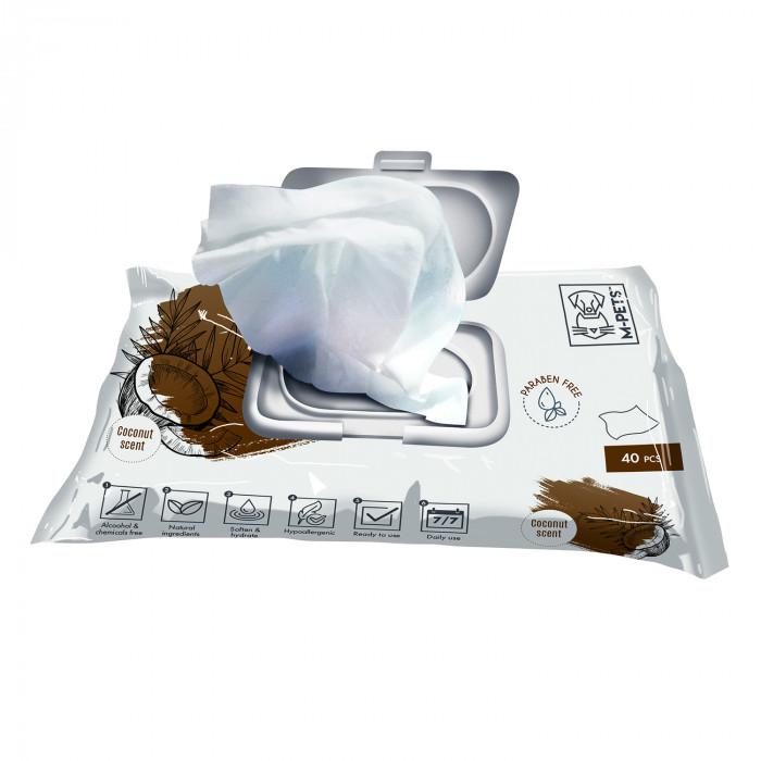 M-PETS Gyvūnų priežiūros servetėlės
