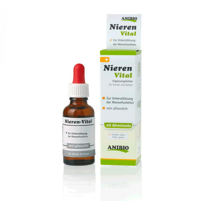 ANIBIO Nieren-Vital šunų ir kačių pašaro papildas, inkstų funkcijų palaikymui