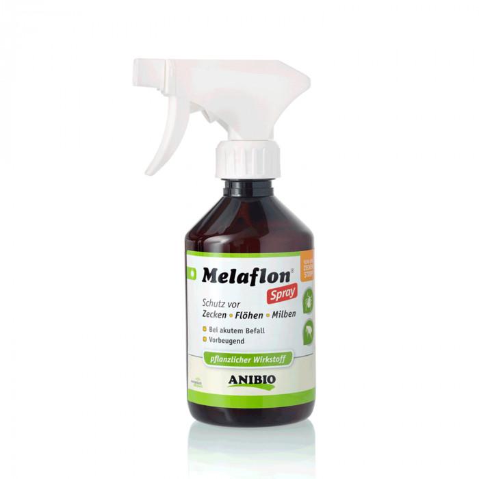 ANIBIO Melaflon Spray šunų ir kačių priežiūros priemonė - purškiklis, erkėms ir blusoms atbaidyti