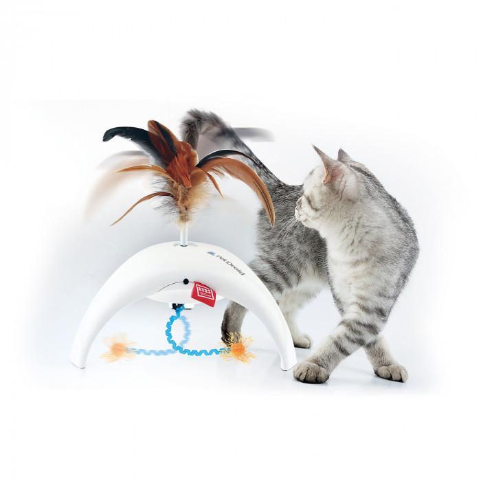 GIGWI Kačių žaislas su pluksnomis