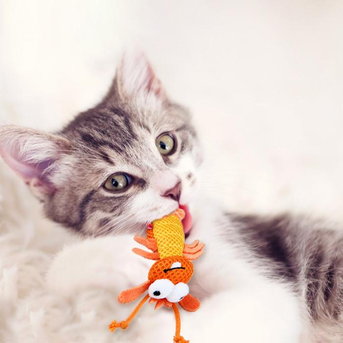 GIGWI Kačių žaislas Krevetė