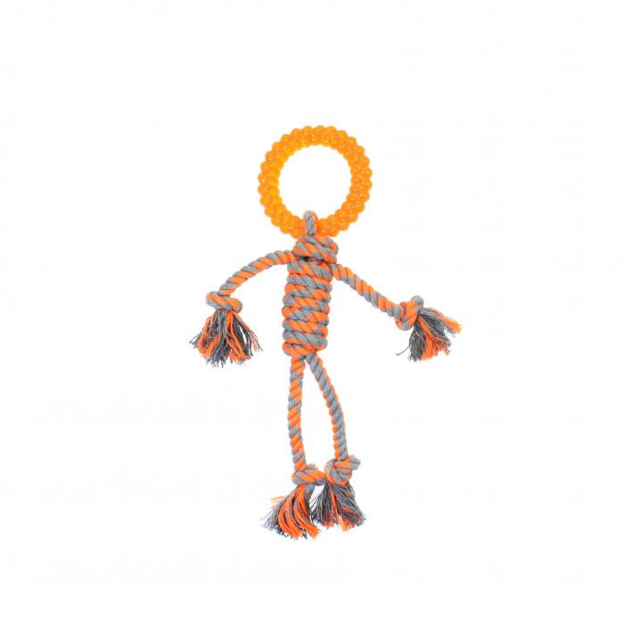 MISOKO&CO Šunų žaislas žmogeliukas ,