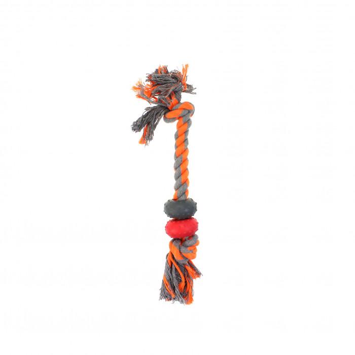 MISOKO&CO Šunų žaislas virvė su žiedais,