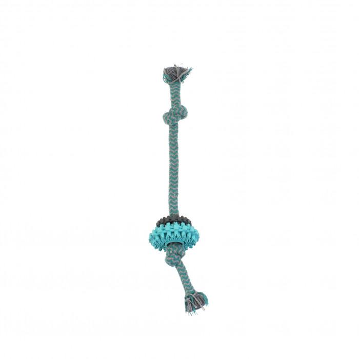 MISOKO&CO Šunų žaislas virvutė su žiedais,
