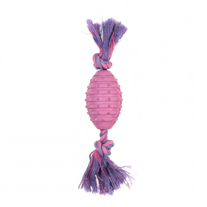 MISOKO&CO Šunų žaislas regbio kamuolys,
