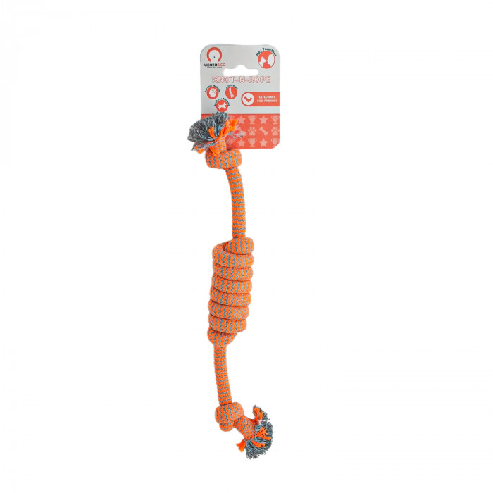 MISOKO&CO Šunų žaislas susukta virvė,