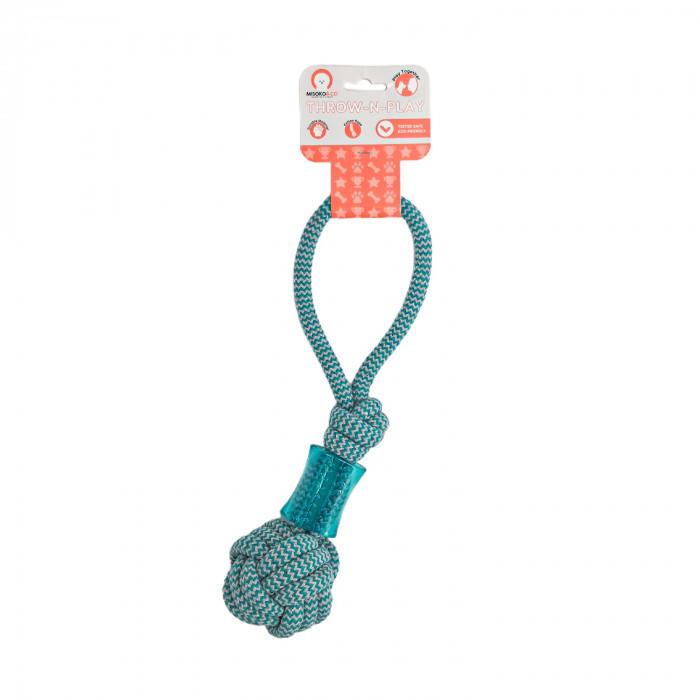 MISOKO&CO Šunų žaislas virvė su kramtuku,
