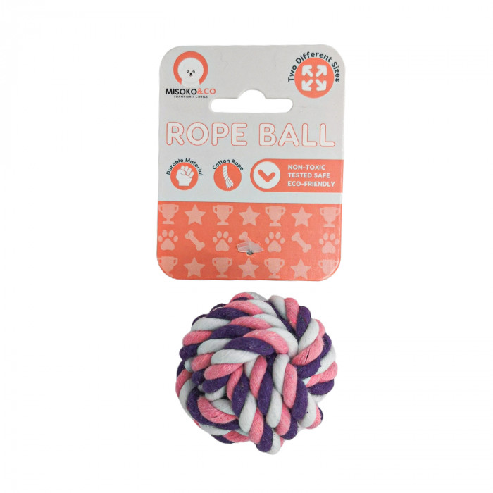 MISOKO&CO Šunų žaislas kamuoliukas,