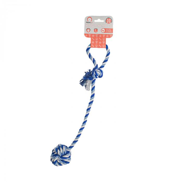 MISOKO&CO Šunų žaislas virvė su kamuoliuku,