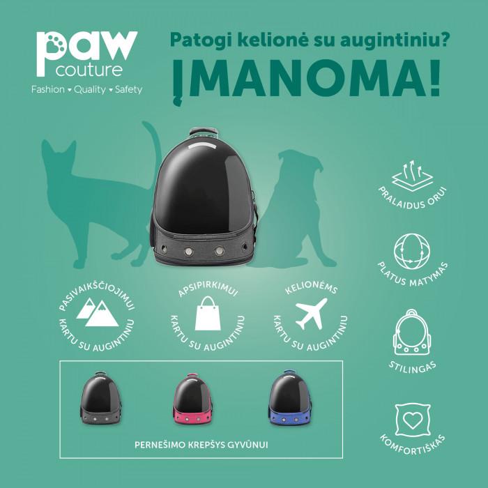 PAW COUTURE Gyvūnų pernešimo krepšys,