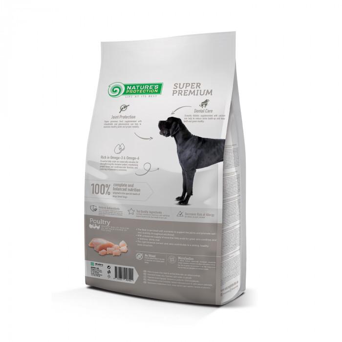 NATURE'S PROTECTION Maxi Large breeds Adult Poultry Sausas pašaras šunims