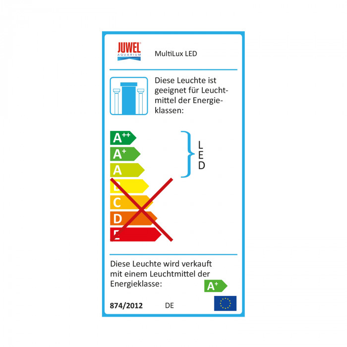 JUWEL Akvariumo apšvietimo sistema Multilux LED Light Unit