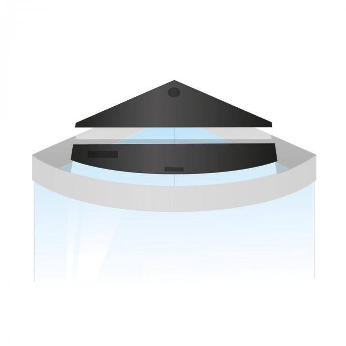JUWEL Trikampio akvariumo atsarginių atvartų rinkinys Trigon 190