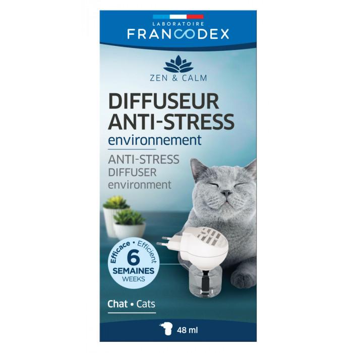 FRANCODEX Kačių difuzorius Anti-stress, į elekros lizdą