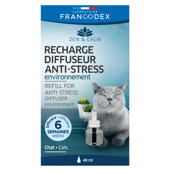 FRANCODEX Kačių difuzoriaus Anti-stress papildymas