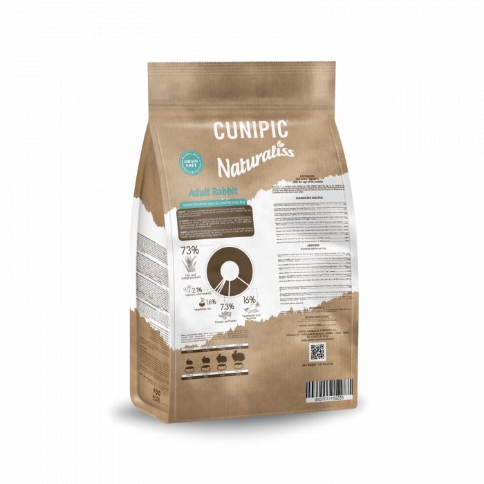 CUNIPIC Naturaliss suaugusių triušių pašaras