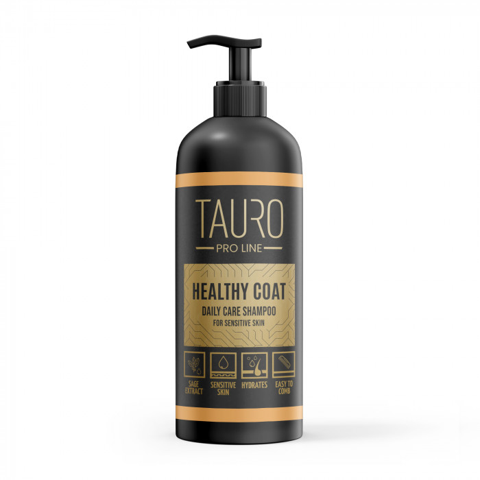 TAURO PRO LINE Healthy Coat Daily Care Shampoo, šampūnas šunims ir katėms