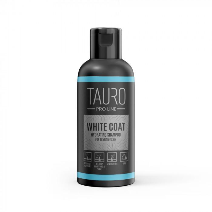 TAURO PRO LINE White Coat hydrating Shampoo, šampūnas šunims ir katėms