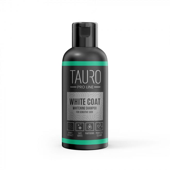TAURO PRO LINE White Coat Whitening Shampoo, šampūnas šunims ir katėms