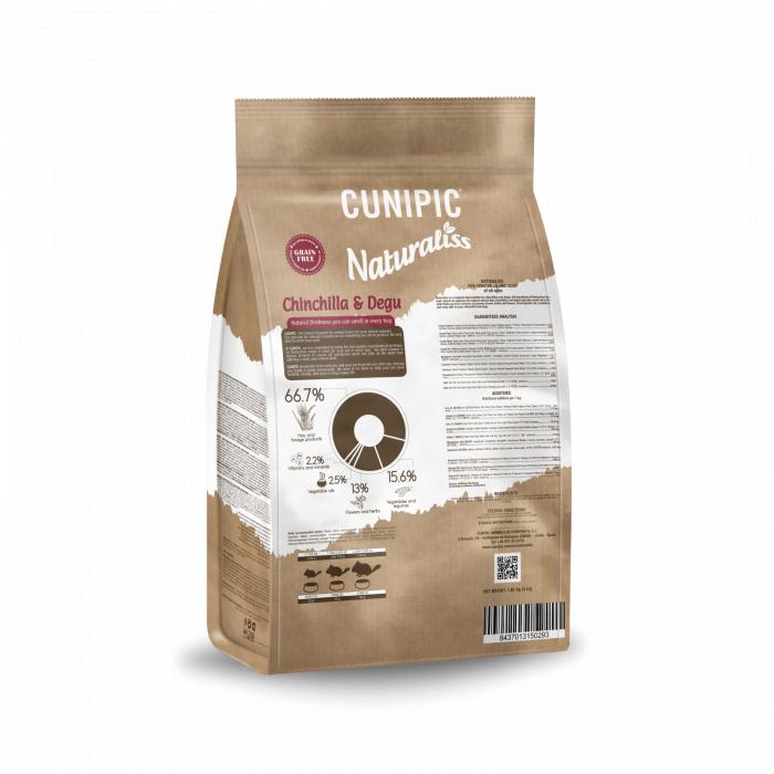 CUNIPIC Naturaliss šinšilų ir degu pašaras