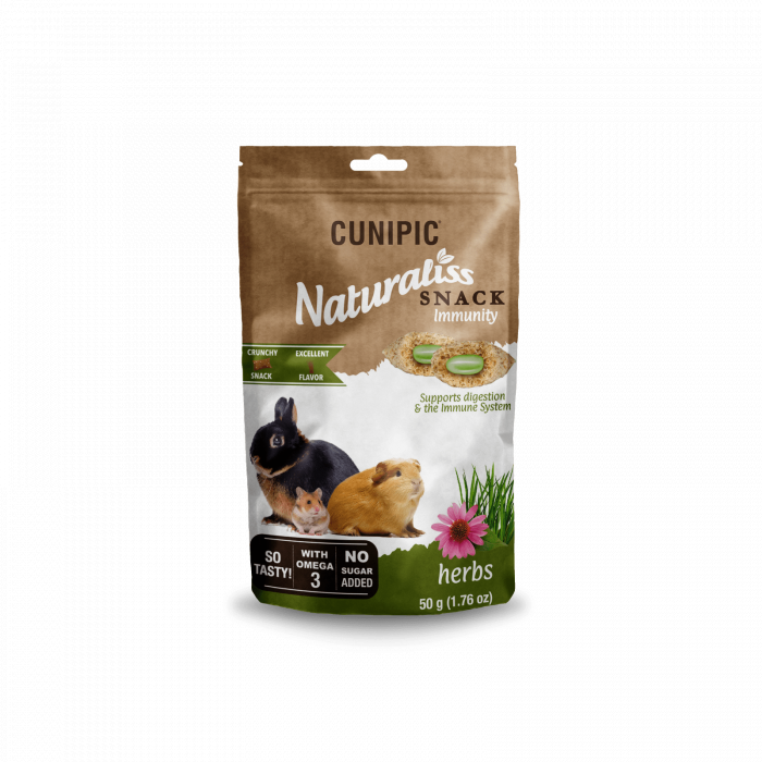 CUNIPIC Naturaliss snack inmunity graužikų užkandis