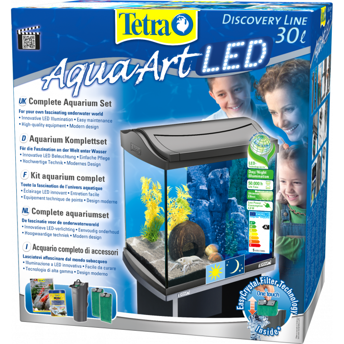 TETRA AquaArt Explorer Line akvariumo rinkinys vėžiams