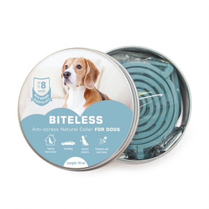 BITELESS Šunų antistresinis antkaklis