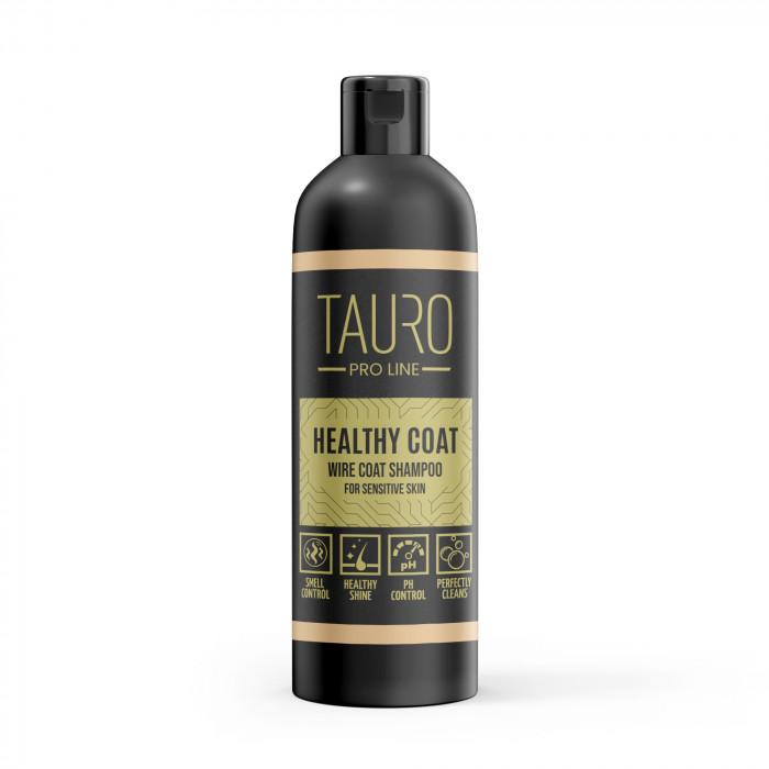 TAURO PRO LINE Healthy Coat wire coat Šampūnas šunims ir katėms