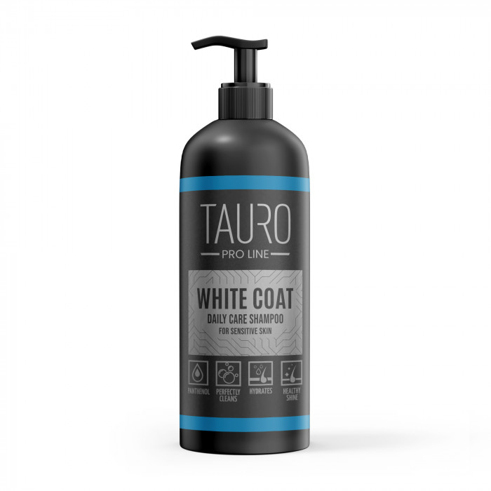 TAURO PRO LINE White Coat Daily Care Shampoo Šampūnas šunims ir katėms