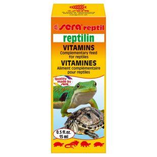 SERA Reptilin Vitamins Vitaminai reptilijoms 15 ml