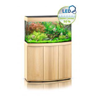 JUWEL LED Vision 180 Akvariumas lenktas šviesaus medžio spalvos, 92x41x55 cm