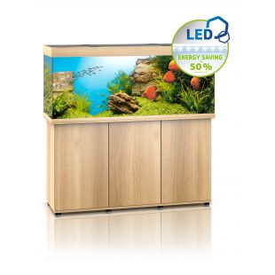 JUWEL LED Rio 450 Akvariumas šviesaus medžio spalvos