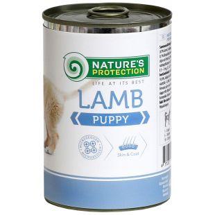 NATURE'S PROTECTION Puppy Lamb Konservuotas pašaras šunims 400 g