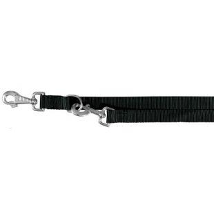 TRIXIE Nailoninis pavadis juodas, 37cm, XS-S