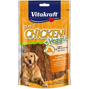 VITAKRAFT Veggi Skanėstas šunims su vištiena ir morkomis 80 g