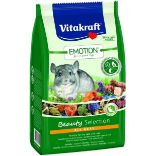 VITAKRAFT Emotion Beauty Pašaras šinšiloms 600 g