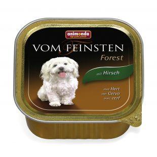 ANIMONDA Vom feinsten Forest Konservuotas pašaras šunims su elniena 150 g
