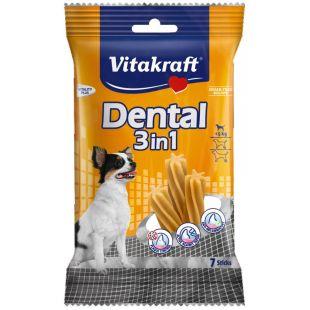 VITAKRAFT Dental 3in1 extra small Pagaliukai šunims 70 g