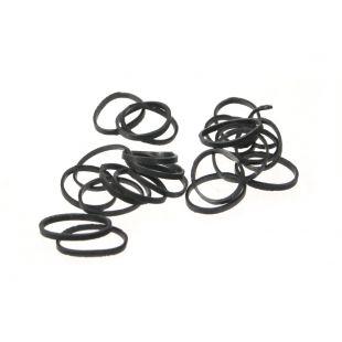 LAINEE Gumytės lateksinės 100vnt juodos, 100 vnt., 10mm