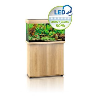 JUWEL LED Rio 125 Akvariumas šviesaus medžio spalvos, 125 l, 81x36x50cm