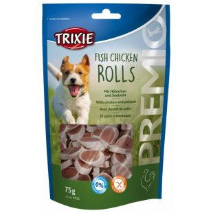 TRIXIE Premio rolls light Skanėstai šunims 75 g