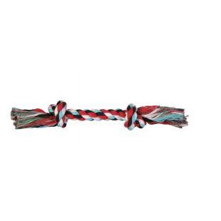 TRIXIE Žaislas šunims susukta spalvota virvė 50 g, 20 cm