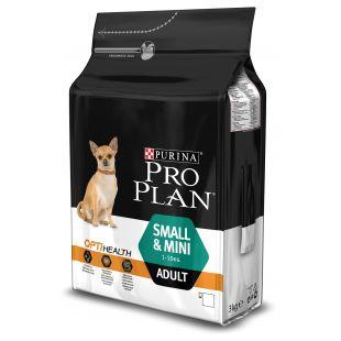 PRO PLAN Small & Mini Adult Chicken Sausas pašaras šunims 3 kg
