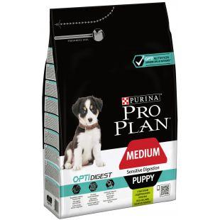 PRO PLAN Sensitive Digestion Medium Puppy Lamb Sausas pašaras šunims 3 kg
