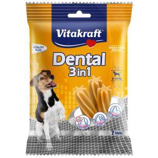 VITAKRAFT Dental 3in1 small Pagaliukai šunims 120 g