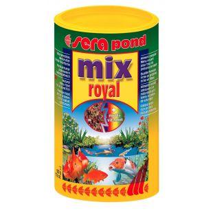 SERA Mix royal Pašaras tvenkinių žuvims nuo 6 cm ir didesnėms 3800 ml