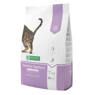 NATURE'S PROTECTION Sensitive Digestion Adult 1 year and older Poultry Sausas pašaras katėms 7 kg