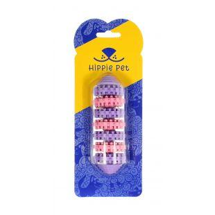 HIPPIE PET Žaislas šunim guminis kramtukas rausvos/violetinės spalvos