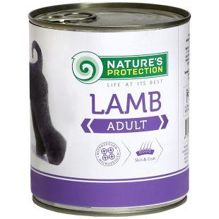 NATURE'S PROTECTION Dog Adult Lamb Konservuotas pašaras šunims 800 g