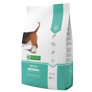 NATURE'S PROTECTION All breeds Senior 7 years and older Poultry Sausas pašaras šunims 4 kg